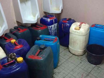Lanal Saumlaki Sita 10,450 Liter Sopi di KM Sabuk Nusantara 104