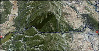 El Río Escabas a vista de pájaro (imagen 6)