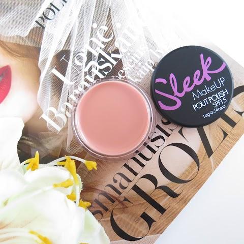 Sleek Makeup Pout Polish lūpų balzamas (Spalva - Bare Minimum)