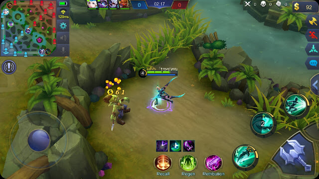 Trik Farming di mobile legend agar Level Hero Cepat Naik