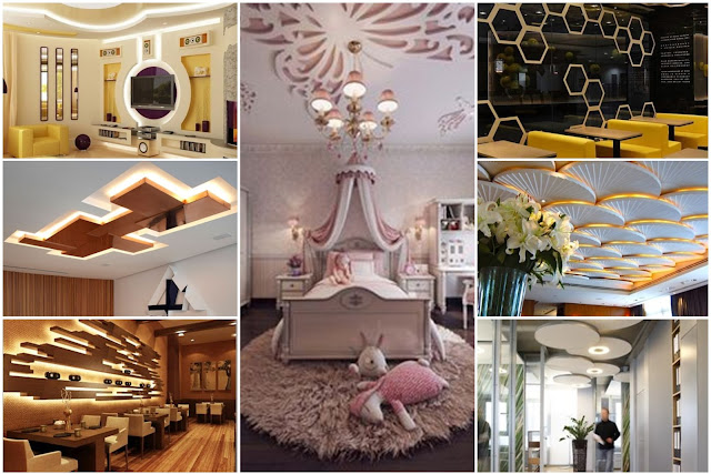 More Elegant Decorations & Lighting With The Use Of Gypsum Board