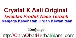 AGEN Jual CRYSTAL X Original Asli NASA untuk organ vital wanita