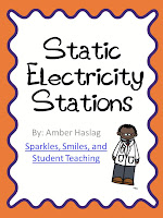 static electricity station, science, elementary, school, teaching