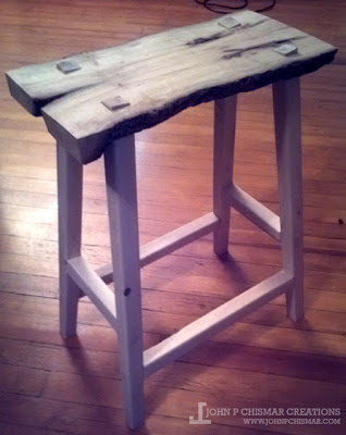 hurricane sandy saddle stool part 2