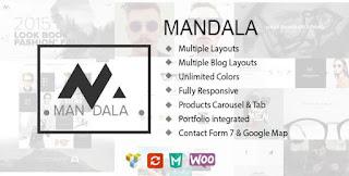Mandala v1.9.1 - Duyarlı E-Ticaret WordPress Tema