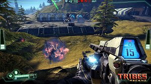 Tribes: Ascend free to play PC MMO FPS game