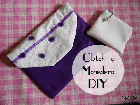 Clutch y Monedero DIY