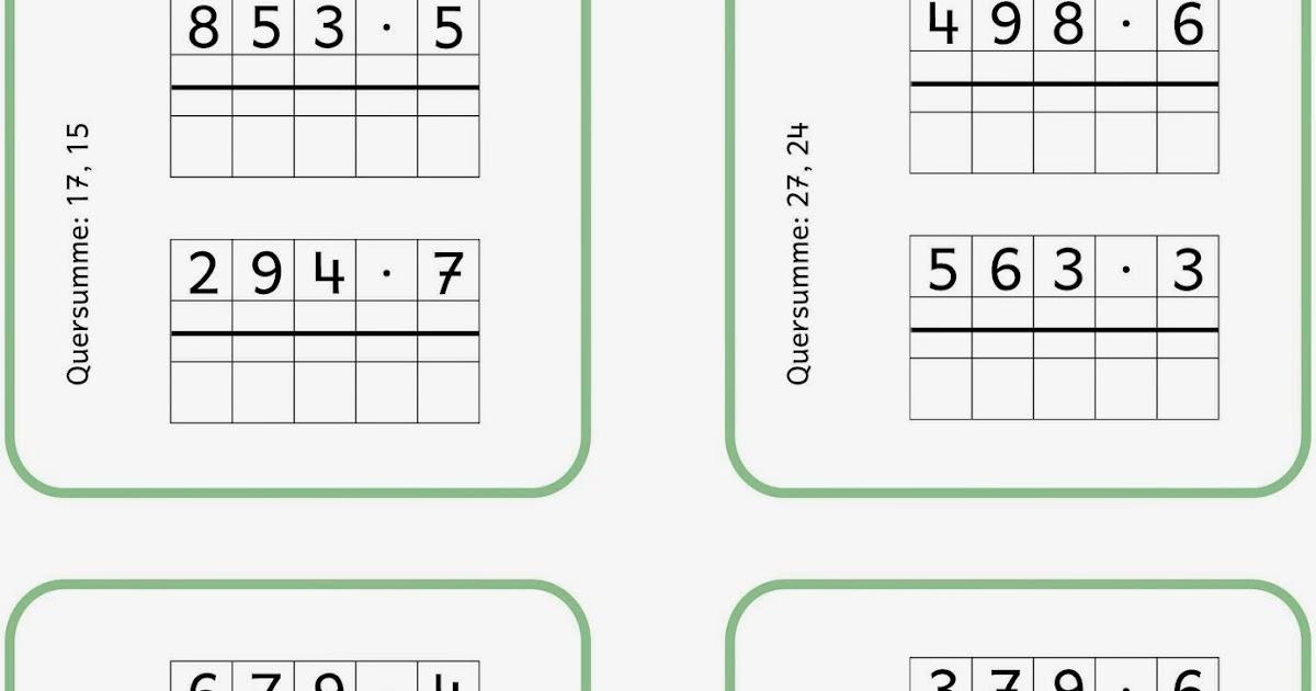 Berühmt Multiplikation Einer Tabelle 3. Mathe Bohrer Klasse Fotos ...