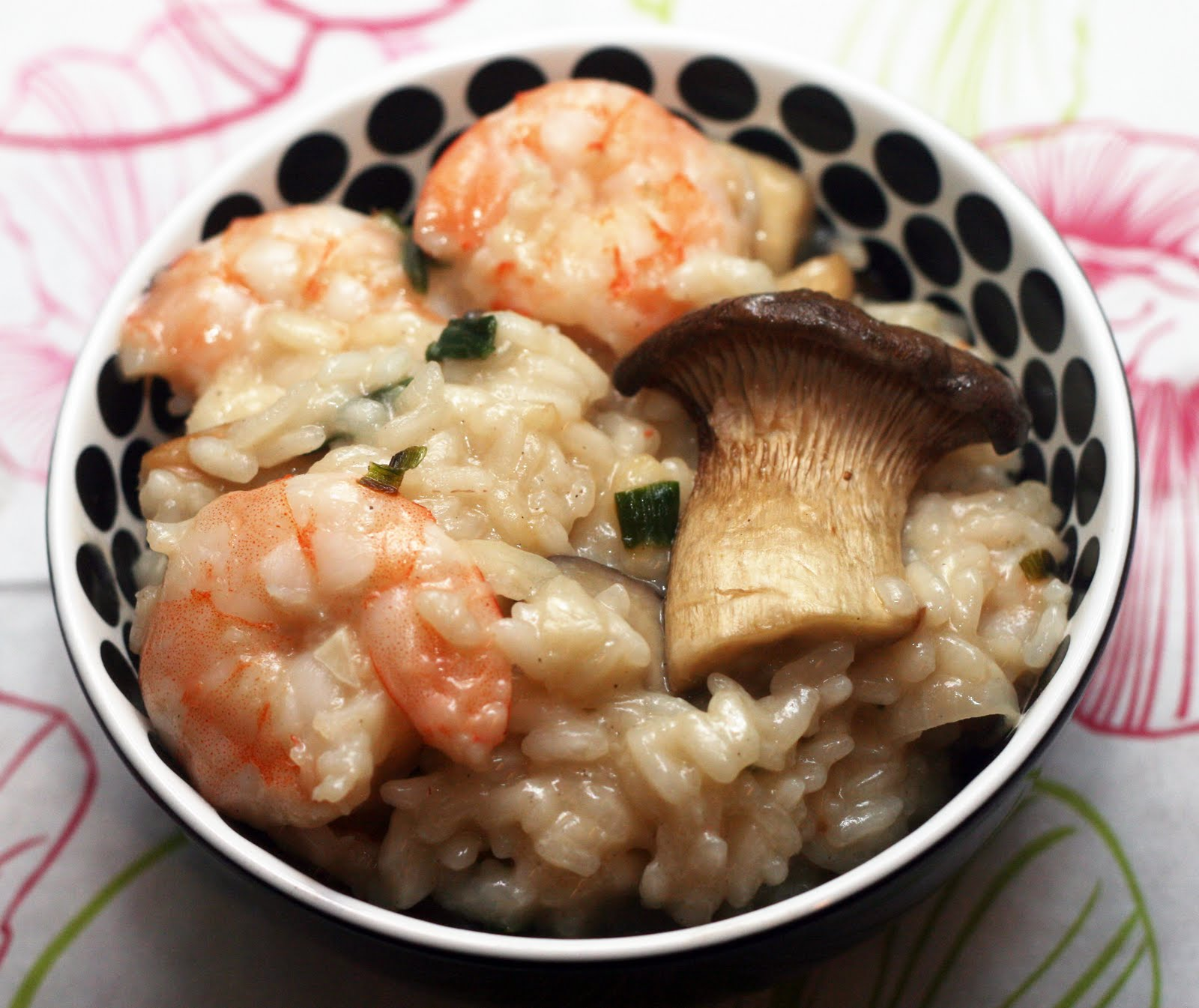Recipes By Rachel Rappaport: Shrimp & King Oyster Mushroom