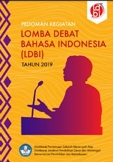 juknis pedoman lomba debat bahasa indonesia (ldbi) tingkat sekolah menengah atas (sma) tahun 2019, tomatalikuang.com