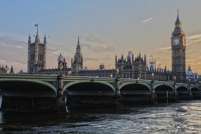 A encantadora Londres!