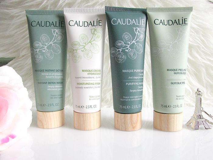 Review: CAUDALIE Masken - Instant Detox, Moisturizing, Purifying & Glycolic Peel Masken