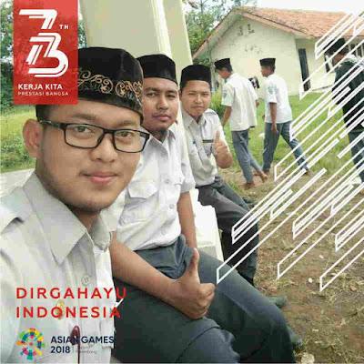 Bingkai foto profil facebook 73 Tahun Dirgahayu Indonesia