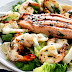 Barbecued Seafood Salad With Garlicky Greek Yogurt Dressing Recipe
