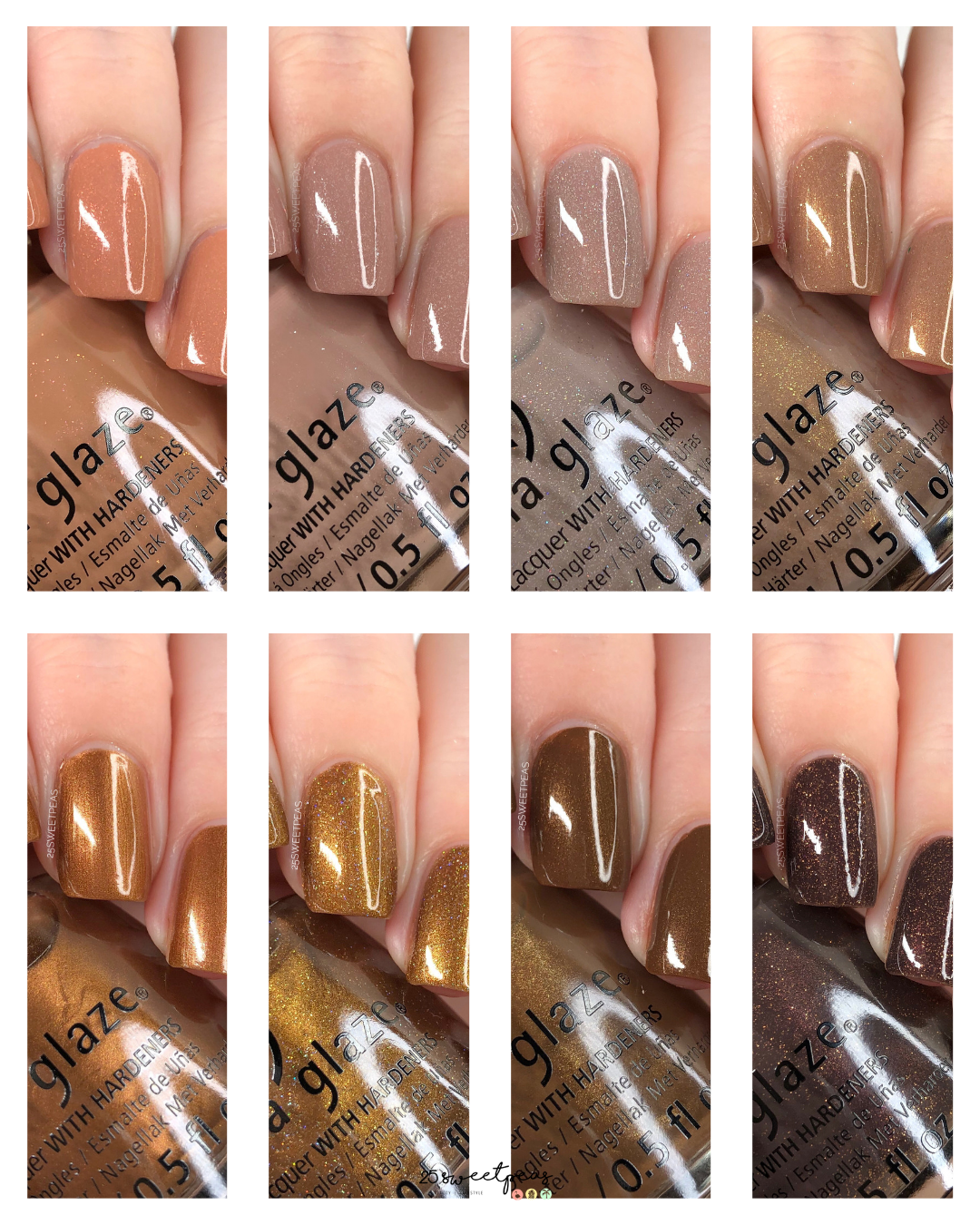 China Glaze Body & Sol Collection