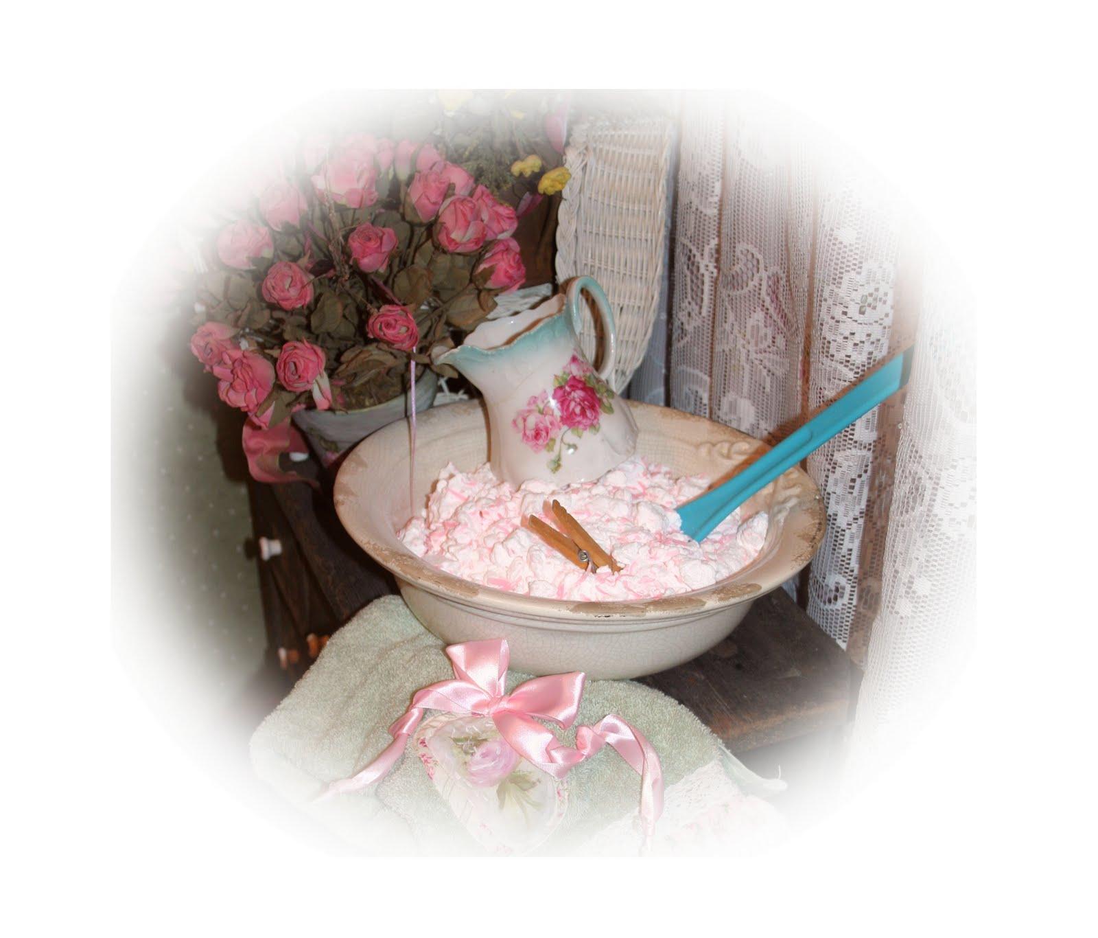 Quaker Hill Farm Pretty Pink Homemade Laundry Soap