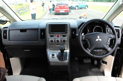 Interior Dashboard Mitsubishi Delica