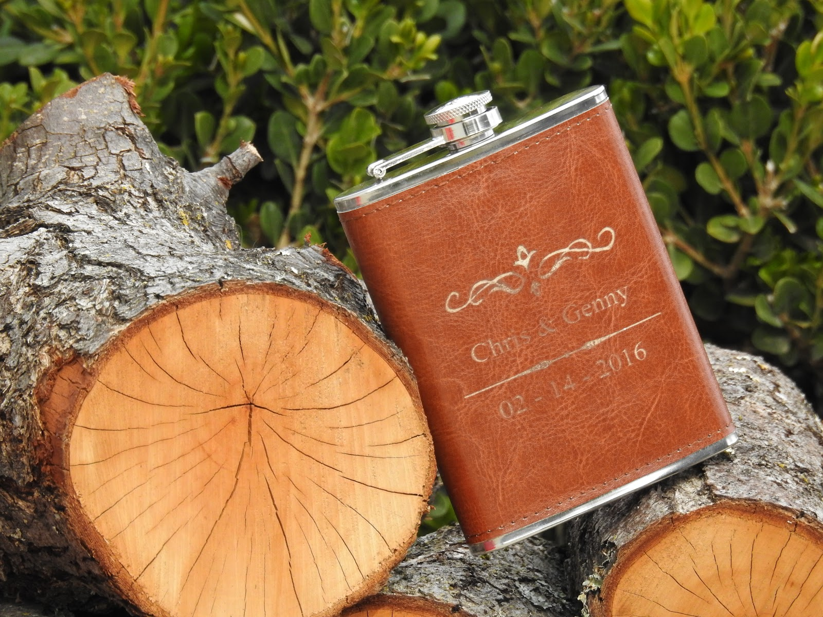 Personalized Gifts, the red flask