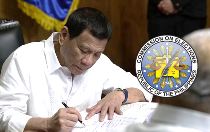 Duterte declares May 13 special non-working holiday