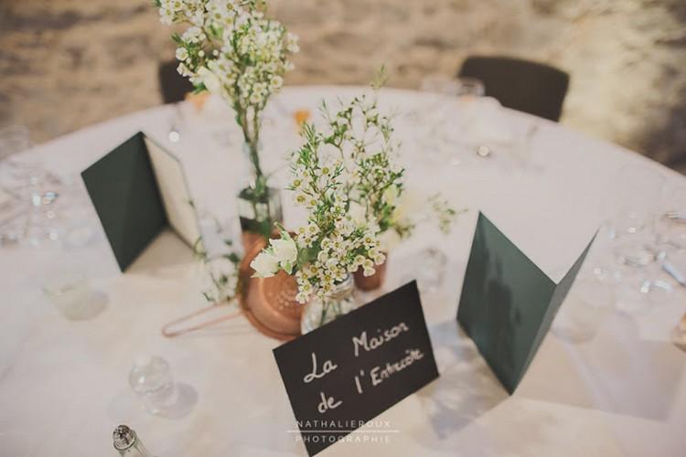 Nathalie Roux photographe mariage, Château de la Gallée, Lyon wedding florist