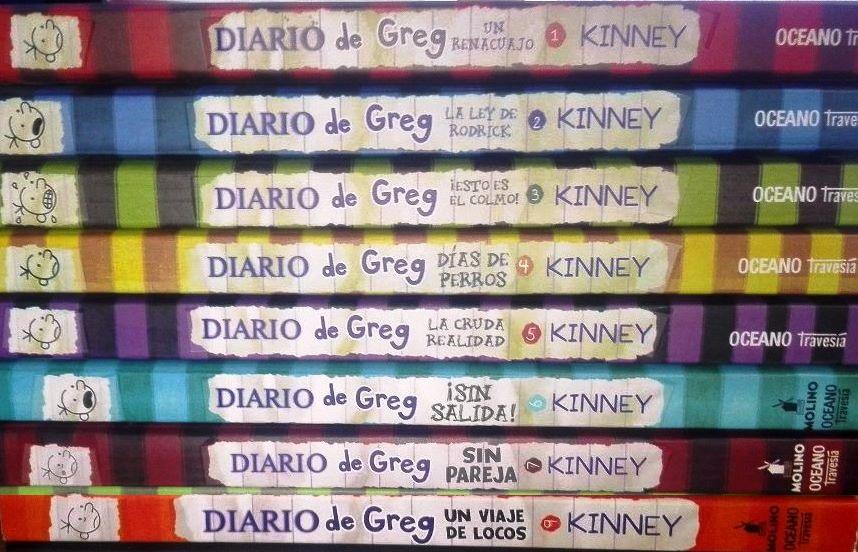 Colección de Diario de Greg – Jeff Kinney