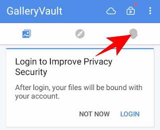 Gallery vault app ko hide kaise kare