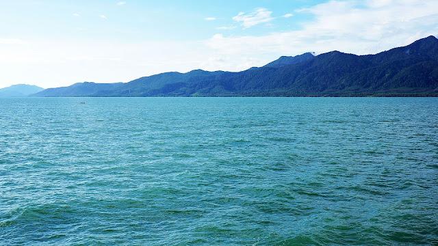 Изображение залива и побережья Тайланда
