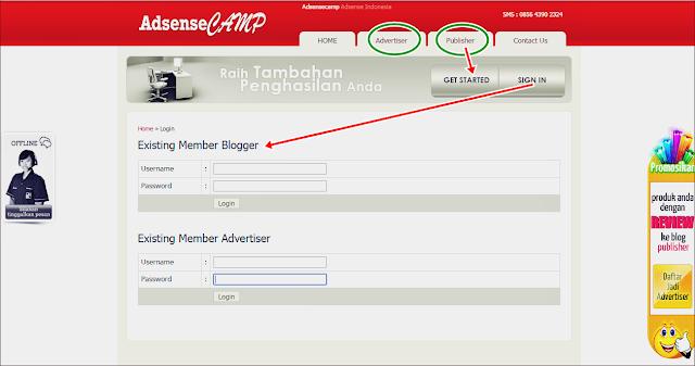 Raih Penghasilan Online Adsense Camp PPC Lokal untuk Blogger