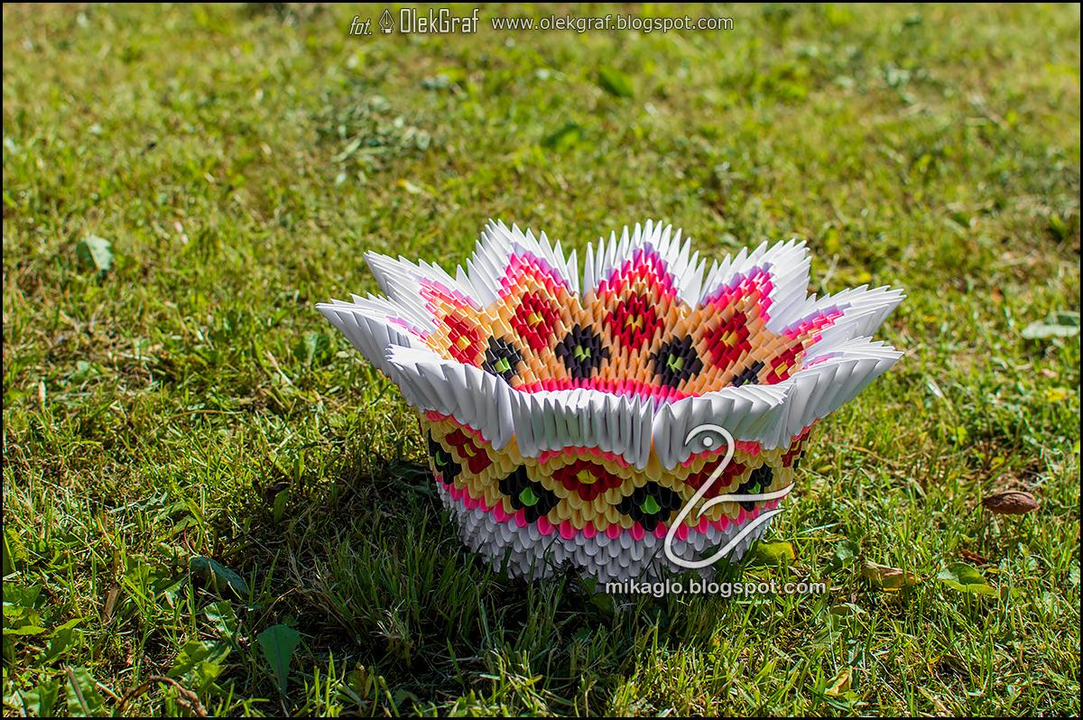 Origami 3d mikaglo 434 koszyk miska z origami 3d origami bowl z origami moduowego jak kto woli w ostatnim czasie zostaam poproszona o wykonanie takiej wersji ju kiedy moglicie zobaczy podobn na blogu jeuxipadfo Images