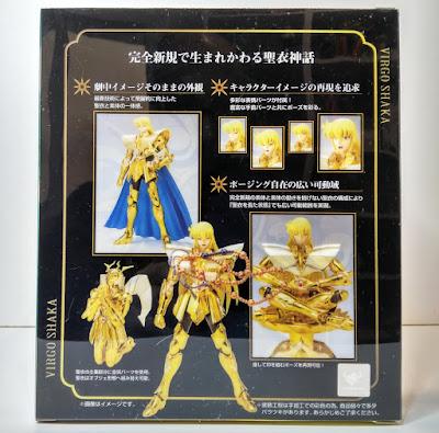 Saint Cloth Myth EX Virgo Shaka ver. Revival - Tamashii Nations
