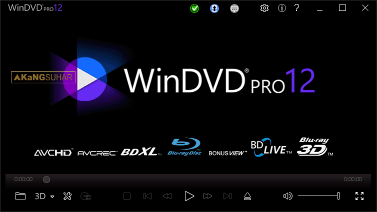 Corel WinDVD Pro 12.0.0.62 SP1 Full Version