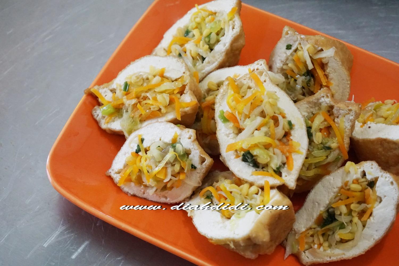 Resep Cake Pisang Diah Didi: Diah Didi's Kitchen: Tips Membuat Tahu Isi Gendut...^_^