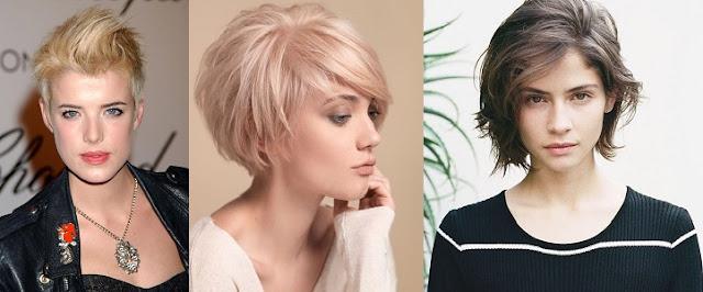Kısa Saç Modelleri (KADIN)