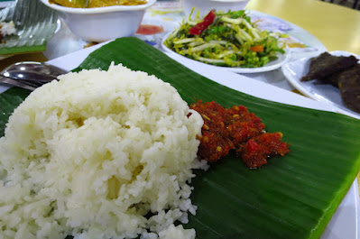 Hajjah Mona Nasi Padang, Geylang Serai Market