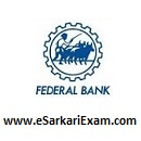Federal Bank PO, Clerk Interview Admit Card
