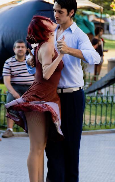 Pareja de tango.