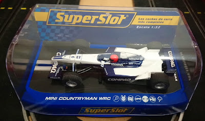 Caja de Fórmula 1 de Superslot Hornby