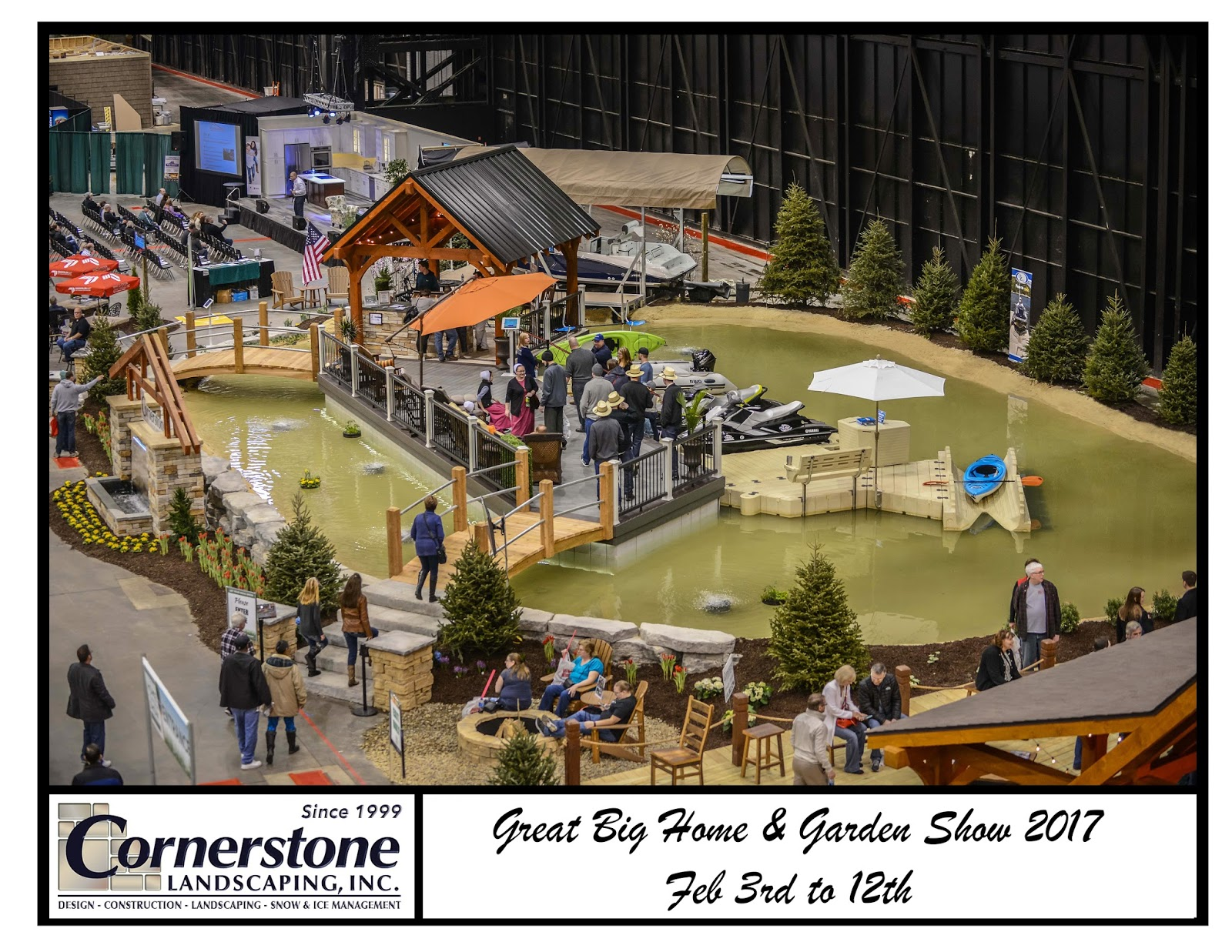 Cornerstone Landscaping, Inc : EZ Port PWC lift | Ohio EZ
