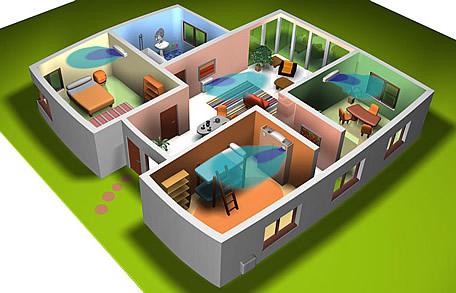 ma pompe chaleur daikin air air en multi split. Black Bedroom Furniture Sets. Home Design Ideas