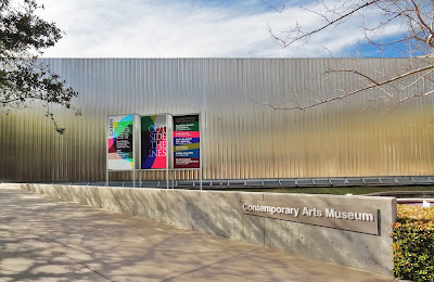 Contemporary Arts Museum Houston (CAMH) in the Museum District