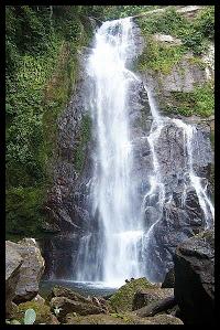 Wisata Air Terjun Tiga Tingkat di Kota Padang