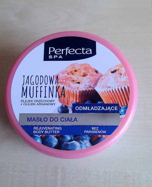 Masło do ciała Perfecta, Jagodowa Muffinka
