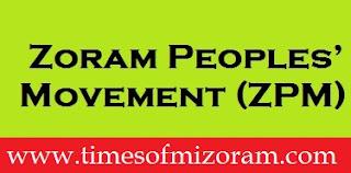 Ṭangrual pawl, Zoram Peoples' Movement (ZPM)