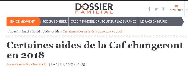 aide caf cmg 2018