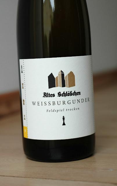 Weissburgunder vom Weingut Altes Schlösschen in der Pfalz