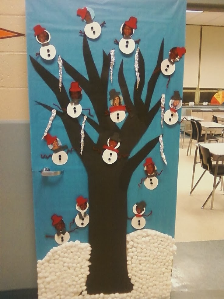 School Christmas Door Decorating Ideas