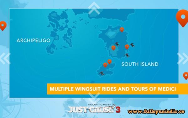 Just Cause 3: WingSuit Tour Apk indir