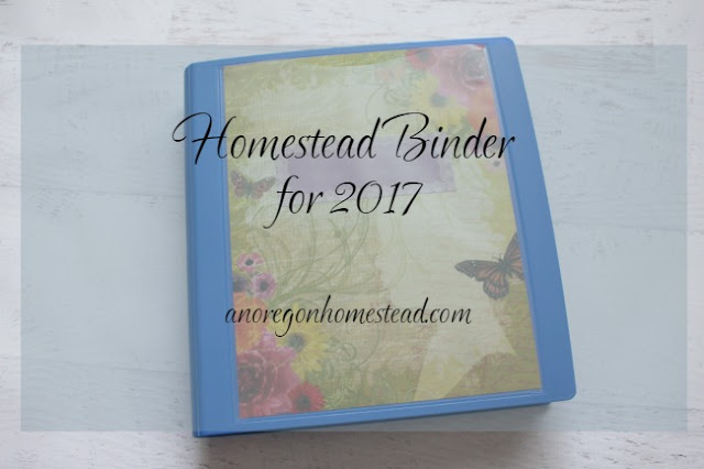 Homestead Binder 2017