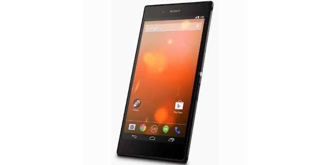 Sony Xperia Z Ultra Google Play edition receives Android 5.0 Lollipop