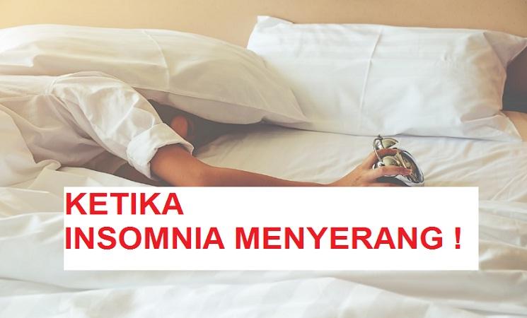 Insomnia Menyerang, Menulis Saja Sampai Pagi
